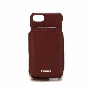 페넥(fennec) LEATHER iPHONE 7/8 MINI POCKET CASE - WINE