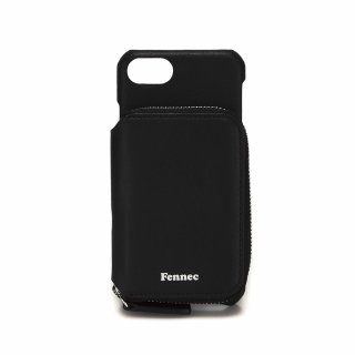 페넥(fennec) LEATHER iPHONE 7/8 MINI POCKET CASE - BLACK