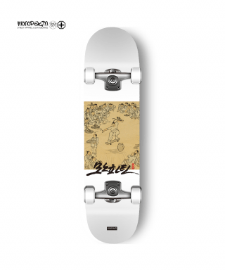 모노파틴(monopatin) kim hong do - ollie white complete skateboard