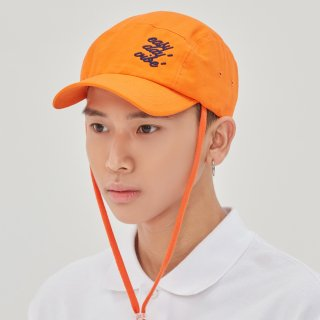 로맨틱크라운(romanticcrown) E.D.V Rope Camp Cap_Orange