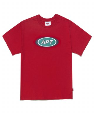 아파트먼트(apartment) APT STAMP HALF SLEEVE - RED