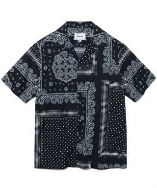 비바스튜디오(vivastudio) BANDANA SHIRTS IS [BLACK]