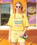 로라로라(ROLAROLA) (TS-19331) SUNSHINE RESORT T-SHIRT LEMON