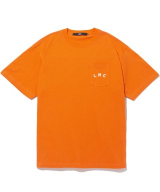 엘엠씨(lmc) LMC RED LABEL POCKET TEE orange