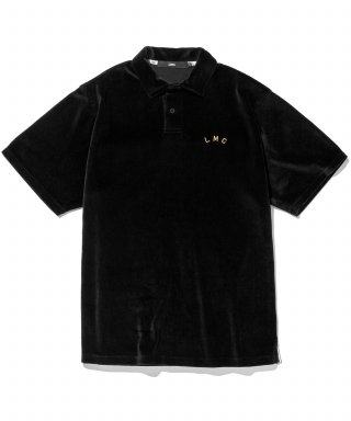 엘엠씨(lmc) LMC RED LABEL VELOUR POLO SHIRT black