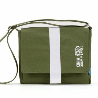 핍스(peeps) open mind mini cross bag(khaki)