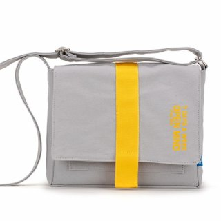 핍스(peeps) open mind mini cross bag(gray)