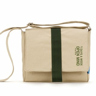 핍스(peeps) open mind mini cross bag(beige)