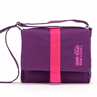 핍스(peeps) open mind mini cross bag(violet)