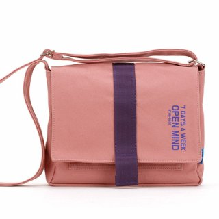 핍스(peeps) open mind mini cross bag(indy pink)