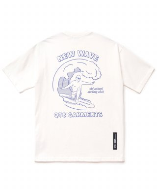 큐티에잇(qt8) KP Grand Surfer Tee (Ivory)