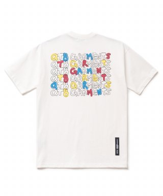 큐티에잇(qt8) KP Kids Handwriting Tee (Ivory)