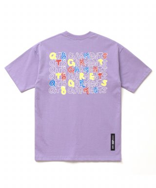 큐티에잇(qt8) KP Kids Handwriting Tee (light Purple)
