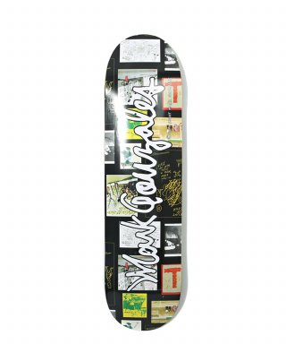 마크 곤잘레스(markgonzales) M/G GRAPHIC SIGN LOGO SKATEBOARD DECK