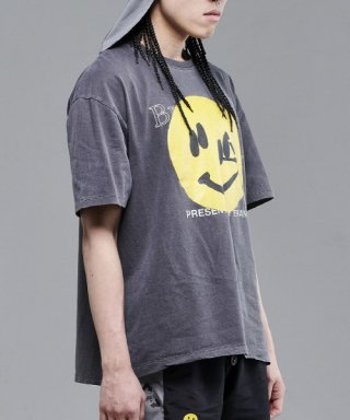 브라만() Big Smile T-shirt Gray