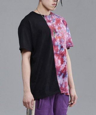 브라만() Hawaiian Half T-shirt