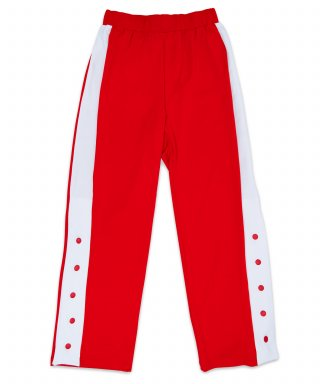 메리먼트(merriment) (유니섹스) Slit Track Pants (RED)