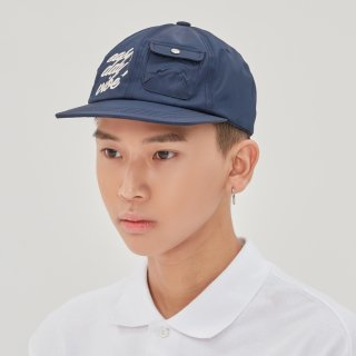 로맨틱크라운(romanticcrown) E.D.V Pocket Ball Cap_Navy