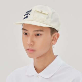 로맨틱크라운(romanticcrown) E.D.V Pocket Ball Cap_Oatmeal