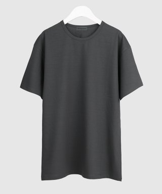 더 티셔츠 뮤지엄(thetshirtmuseum) 19ss premium cotton span t-shirt [dark gray]