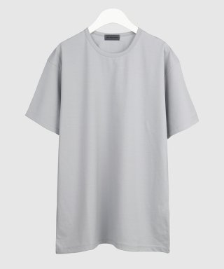 더 티셔츠 뮤지엄(thetshirtmuseum) 19ss premium cotton span t-shirt [light gray]