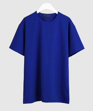 더 티셔츠 뮤지엄(thetshirtmuseum) 19ss premium cotton span t-shirt [royal blue]