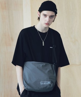 매스노운(massnoun) SL LOGO 2WAY COMPACT BAG MSNAB003-DG