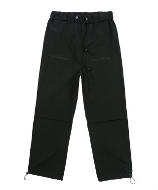 에스이에스티(selfesteem) SEST - POCKET PANTS - EST-B-01 - BLACK