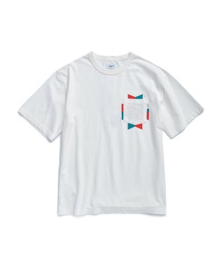 에스피오나지(espionage) Navajo Pocket T-Shirt White