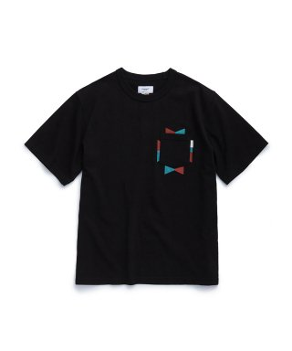 에스피오나지(espionage) Navajo Pocket T-Shirt Black