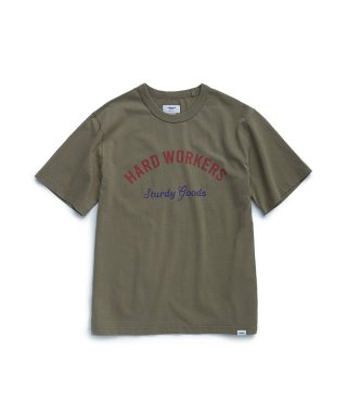 에스피오나지(espionage) Hard Workers T-Shirt Olive