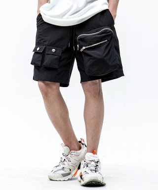 마에다 류토(maedaryuto) MULTI POCKET BANDING HALF PANTS