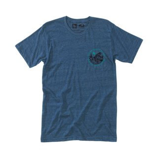 히피트리(hippytree) Freshwater Tee - Heather Navy