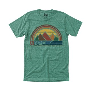 히피트리(hippytree) Sunbelt Tee - Heather Green