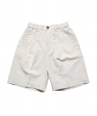 스테디 에브리웨어(steadyeverywear) Linen Easy Shorts (Ecru)
