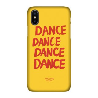 "롤링스튜디오(rollingstudios) ""DANCE"" Printed iPhone 7/8 X/XS Case Yellow"