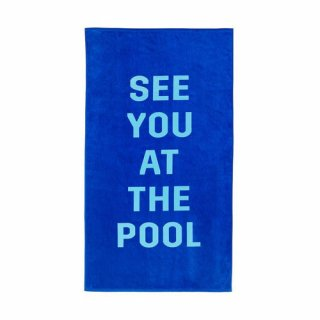 밴도(bando) BEACH PLEASE GIANT TOWEL-see you at the pool