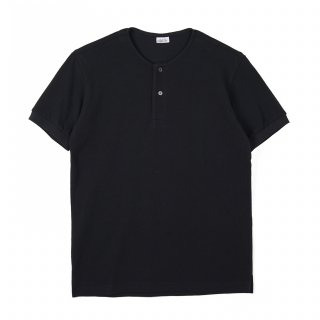 노클레임(noclaim) Round Neck Polo Shirt Black