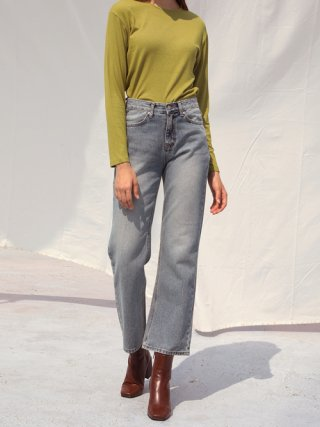 셉템버29(september29) CLASSIC STRAIGHT DENIM PANTS