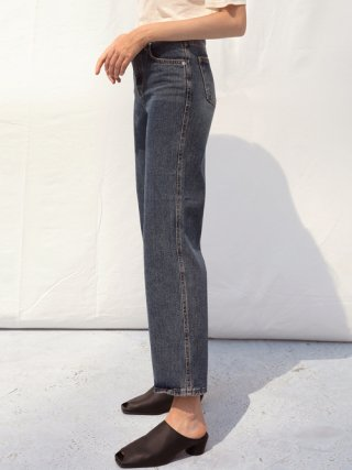 셉템버29(september29) HIGHWAIST WIDE DENIM PANTS