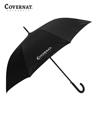커버낫(covernat) AUTHENTIC LOGO LONG UMBRELLA BLACK