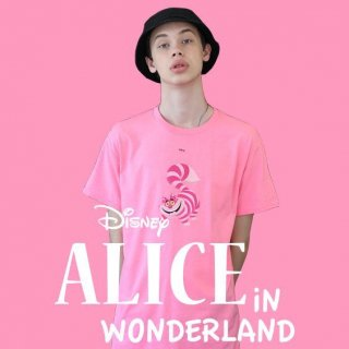 888스튜디오(888studio) Alice Cheshire Cat T-shirt Pink