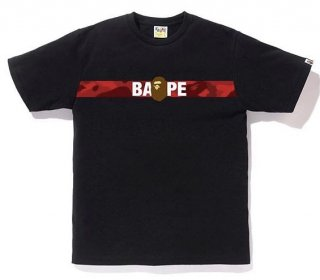 베이프(bape) COLOR CAMO TAPE APE HEAD TEE