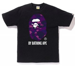 베이프(bape) COLOR CAMO BY BATHING TEE