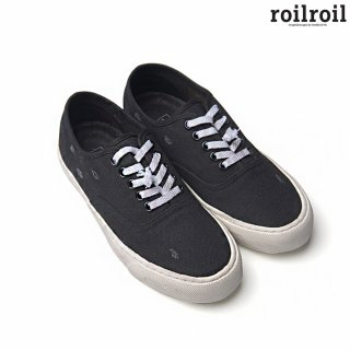 로일로일(roilroil) Destroyed Sneakers Authentic - BLACK (UNISEX)