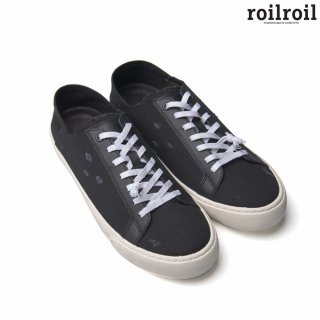 로일로일(roilroil) Destroyed Sneakers Fold - BLACK (UNISEX)