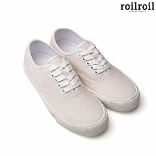 로일로일(roilroil) Destroyed Sneakers Authentic - WHITE (UNISEX)