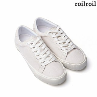 로일로일(roilroil) Destroyed Sneakers Found - WHITE (UNISEX)