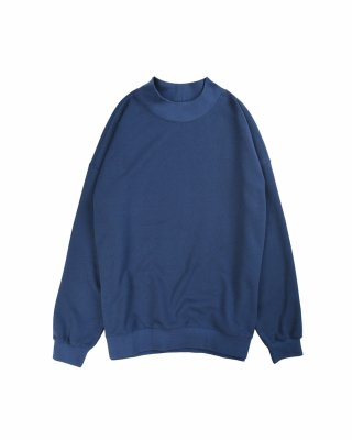 비슬로우 스탠다드(beslowstandard) 19FW OVERSIZED MOCK NECK SWEAT SHIRT NAVY