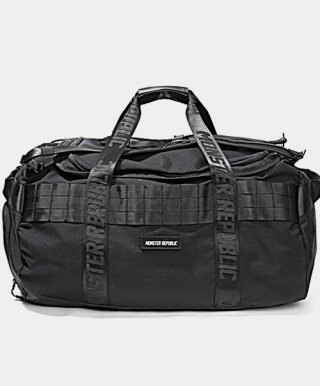 몬스터리퍼블릭(monsterrepublic) MASTERPIECE DUFFEL BAG / BLACK
